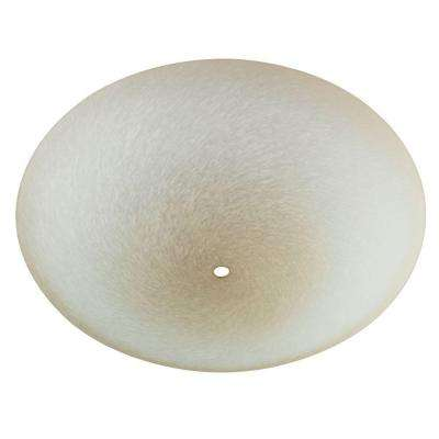 1-3/4 in. Round Tan and Cream Brushed Diffuser with 13 in. Width