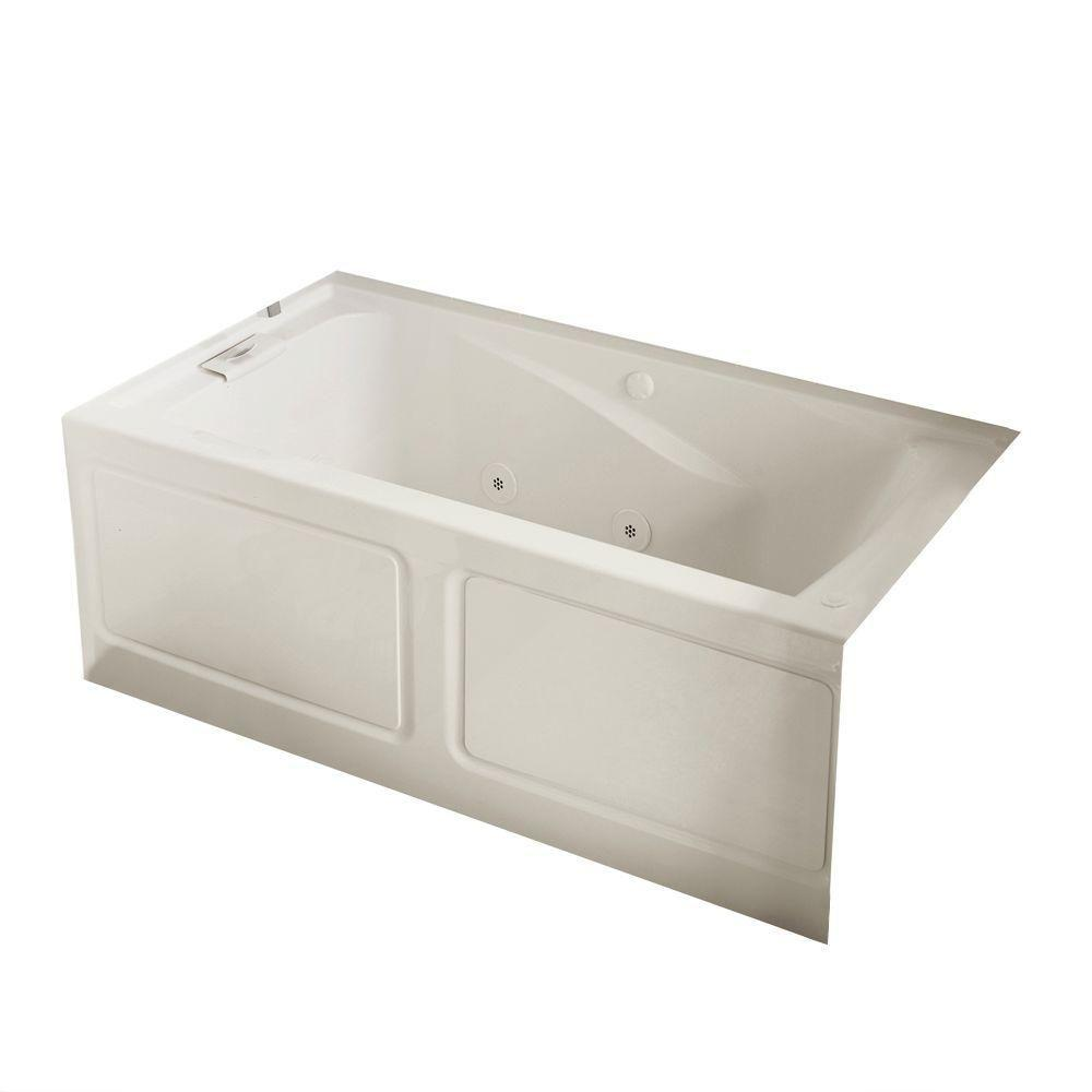 Evolution 60 in. x 32 in. Air Bath Tub in White