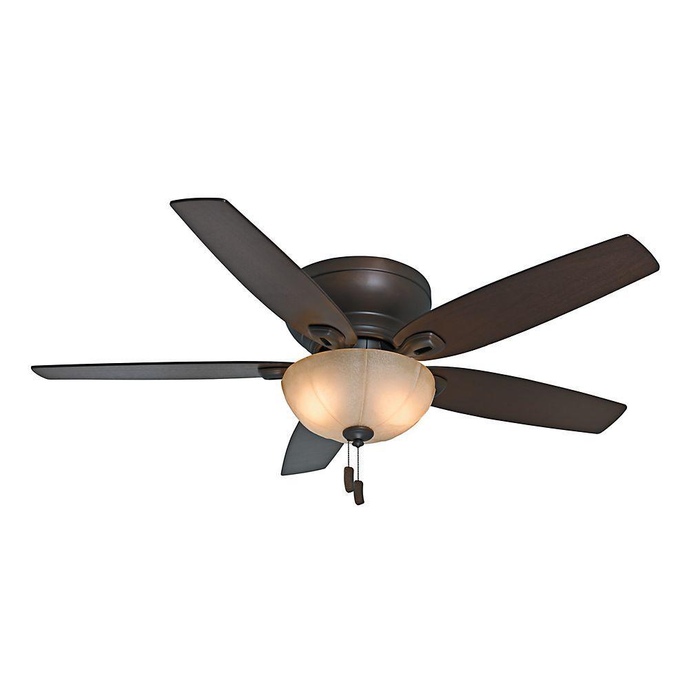 Casablanca Durant 54 in. Indoor Maiden Bronze Ceiling Fan with Light