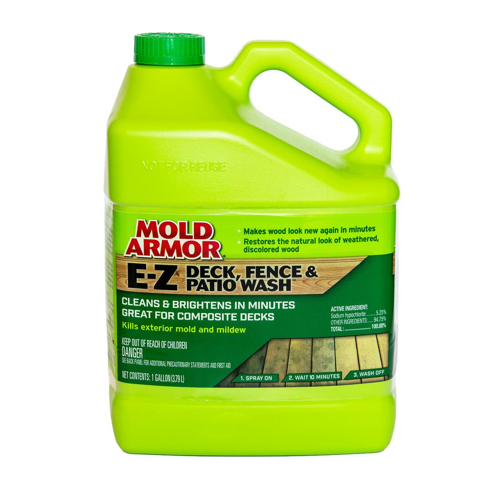 Mold Armor 1 Gal. E-Z Deck and Fence Wash Mold and Mildew Remover