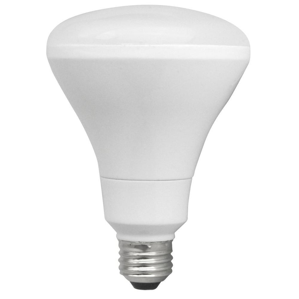 TCP 65W Equivalent Soft White  BR30 Dimmable LED Flood Light Bulb