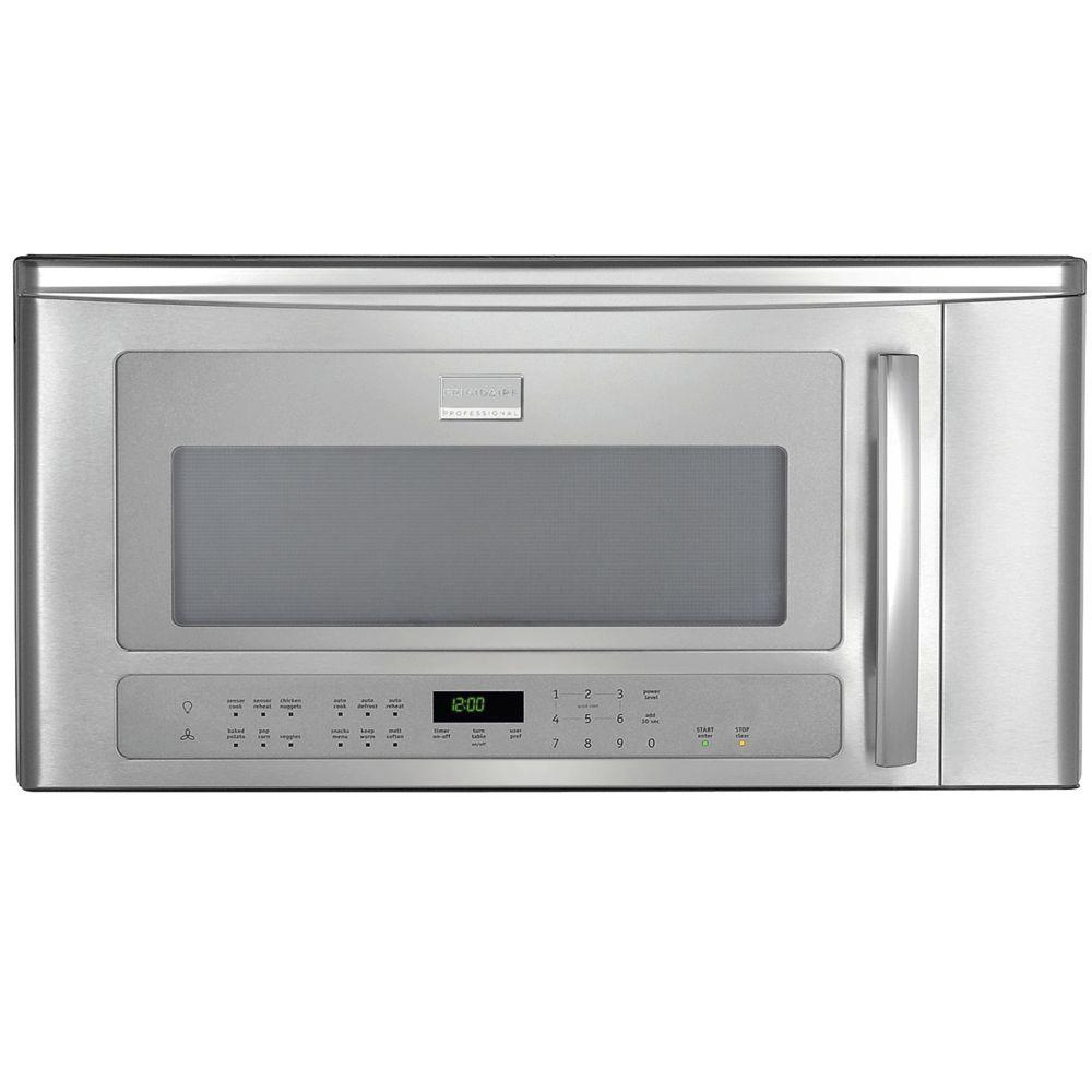 Frigidaire Professional 2.0 cu. ft. Over the Range Microwave in Stainless Steel