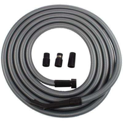 30 ft. Universal Extension Hose for Shop and Garage Vacuums, Central Vacuums, and Utility Vacuums