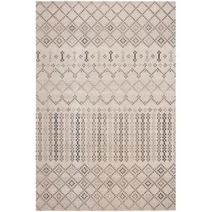 Montage Gray/Charcoal 5 ft. x 8 ft. Indoor/Outdoor Area Rug