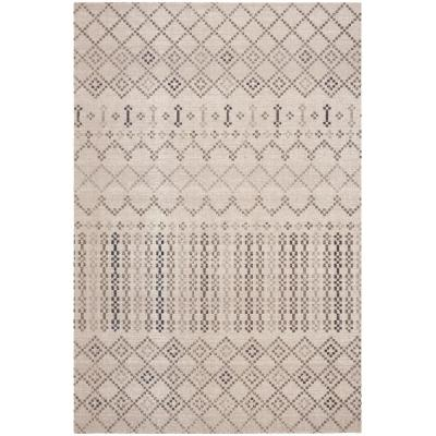 Montage Gray/Charcoal 8 ft. x 10 ft. Indoor/Outdoor Area Rug