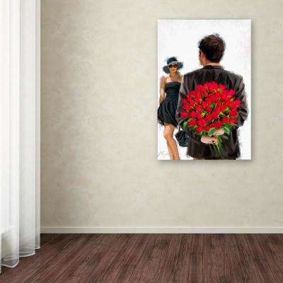 """19 in. x 12 in. """"Bouquet"""" by The Macneil Studio Printed Canvas Wall Art"""