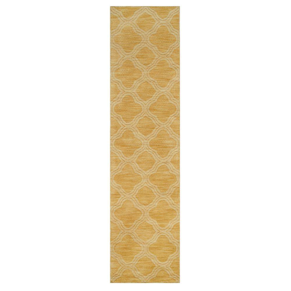 Home Decorators Collection Morocco Gold 2 ft. 6 in. x 10 ft. Rug Runner