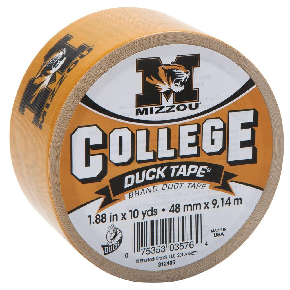 College 1-7/8 in. x 10 yds. University of Missouri Duct Tape
