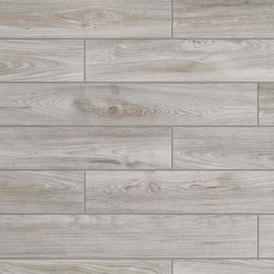 Regent Grove Ash Gray 6 in. x 36 in. Glazed Porcelain Floor and Wall Tile (348 sq. ft./Pallet)