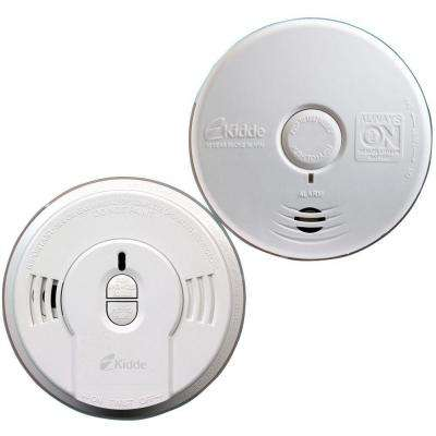 10-Year Battery Operated Twin-Pack Ionization and Photoelectric Smoke Alarm