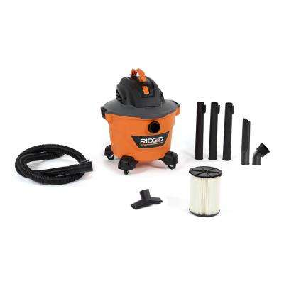 9 Gal. 4.25-Peak HP NXT Wet/Dry Shop Vacuum with Filter, Hose, 3-Wands, Utility Nozzle, Crevice Tool and Dusting Brush