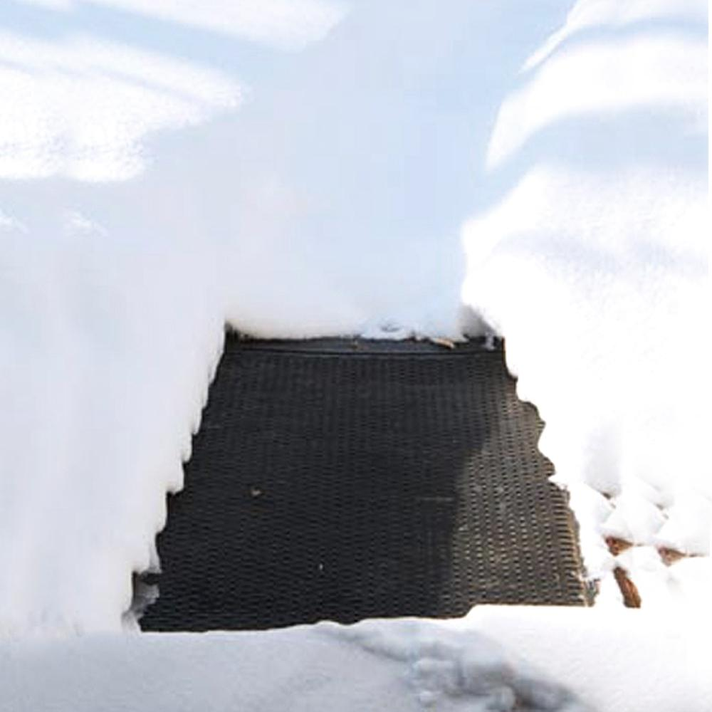 Entry Outdoor Snow Ice Melting Heated Heating Floor