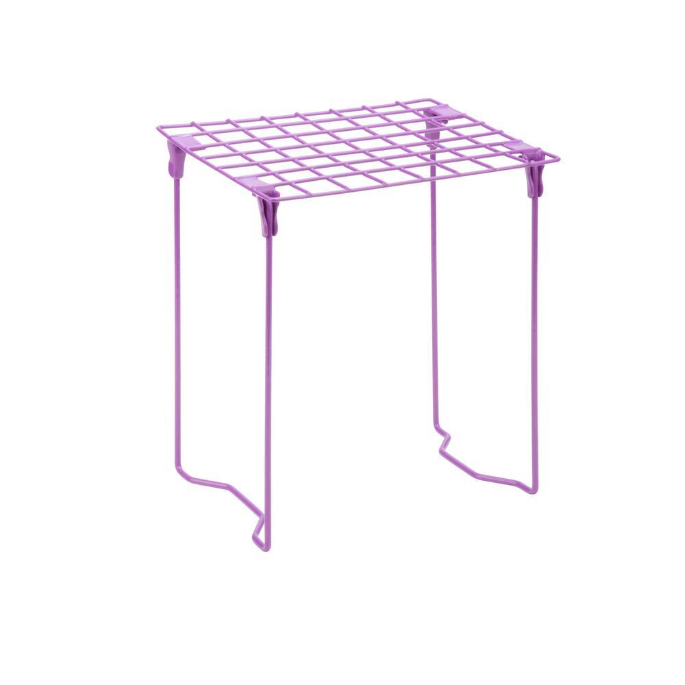 Honey-Can-Do Excessory Locker Shelf in Purple