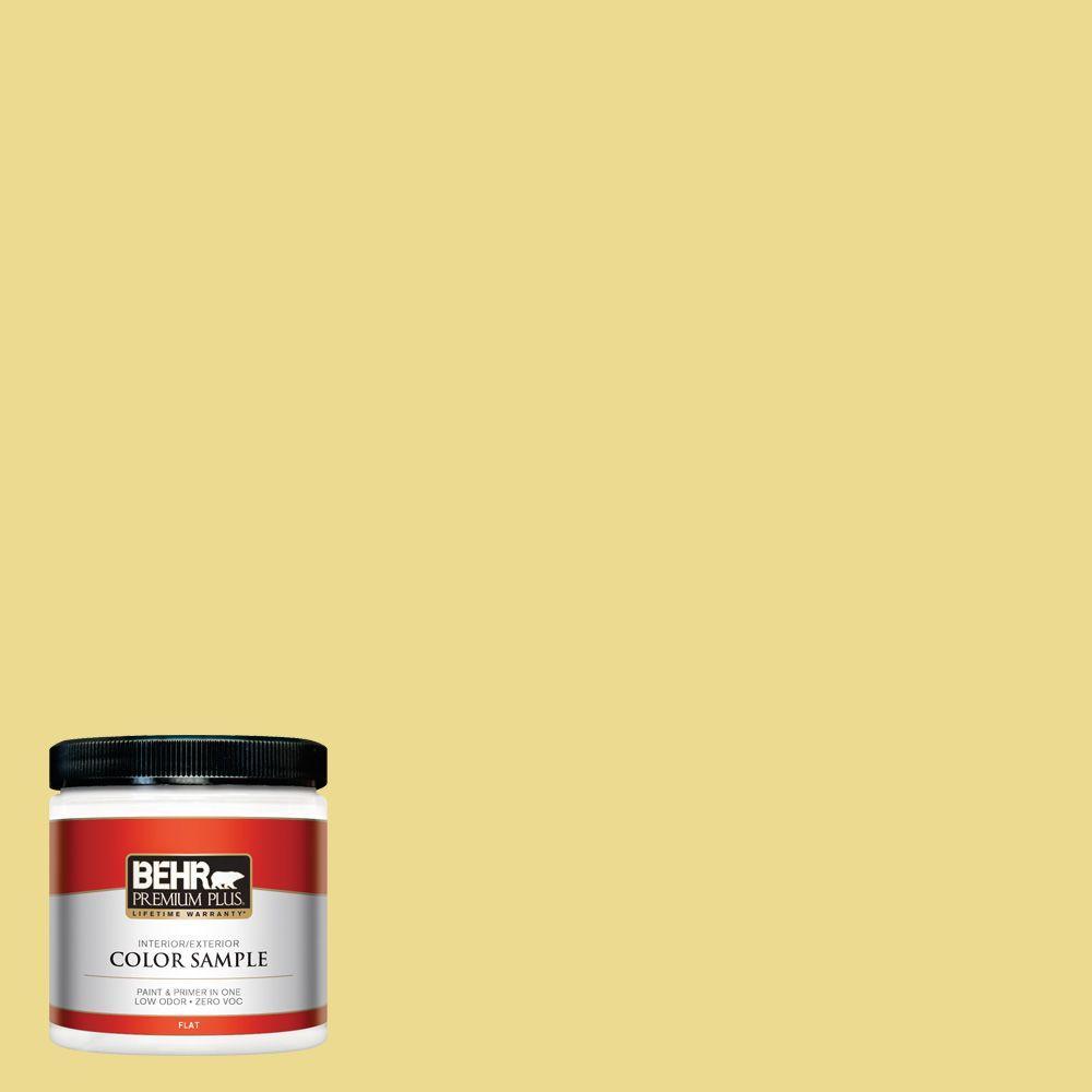 8 oz. #P320-4 Pineapple Crush Interior/Exterior Paint Sample
