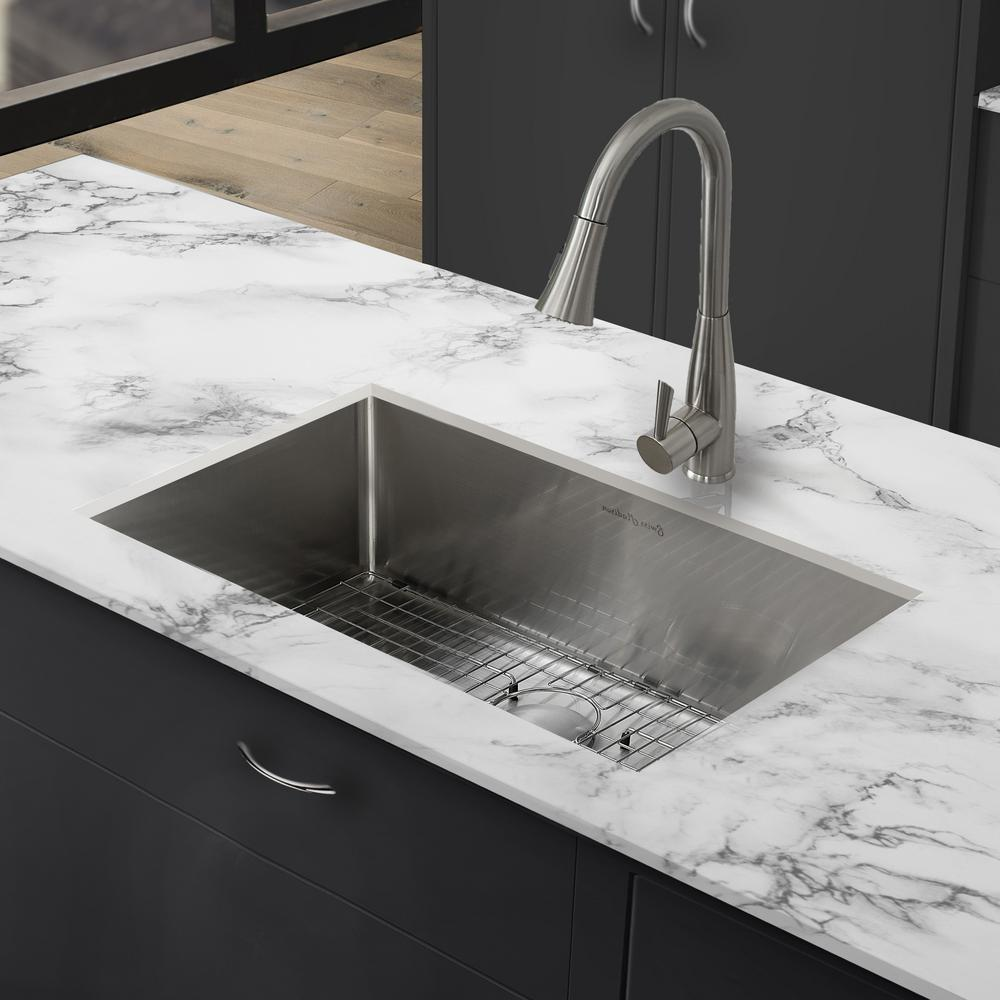 Swiss Madison Rivage Undermount Stainless Steel 23 in. x 18 in