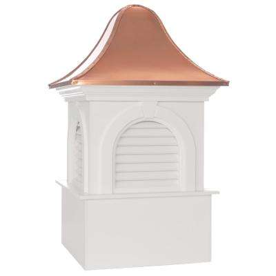 Smithsonian Ridgefield 48 in. x 79 in. Vinyl Cupola with Copper Roof