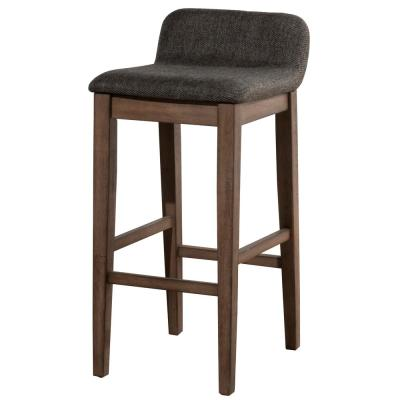 Renmark 26.5 in. Chocolate Gray Counter Stool