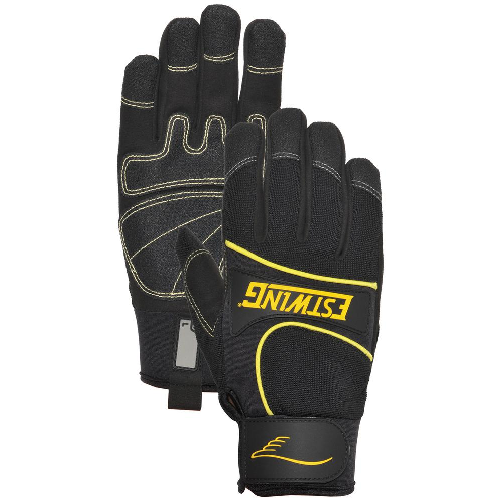 Synthetic Leather Palm Work Large Glove