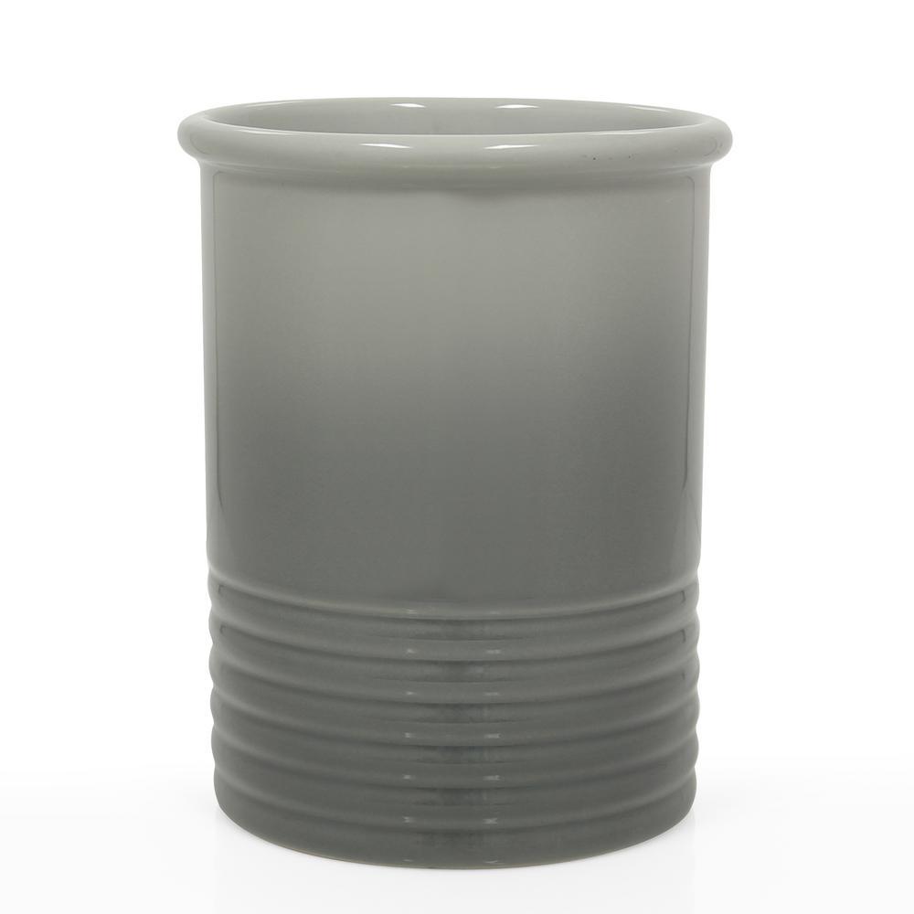 Chantal Medium Fade Grey Ceramic Utensil Crock 92-14-R FG