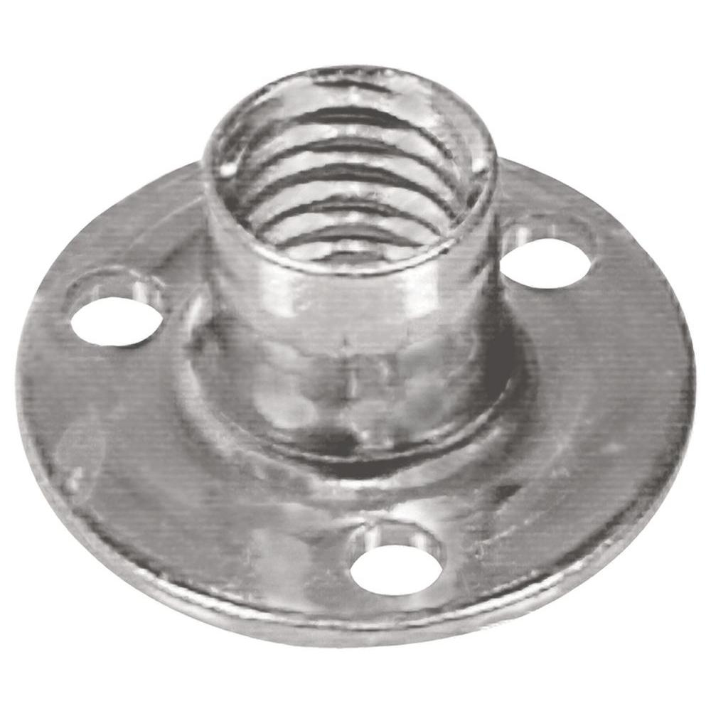 What Kind Of Nut Has A Hole >> Hillman 3 8 16 X 7 16 In Coarse Stainless Steel Brad Hole Tee Nut