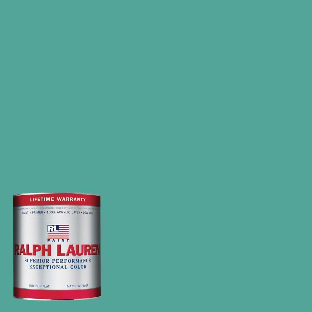 Ralph Lauren 1-qt. Jessel Blue Flat Interior Paint