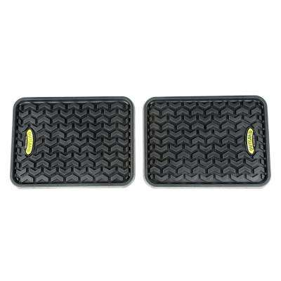 Black Universal Rear Floor Liner