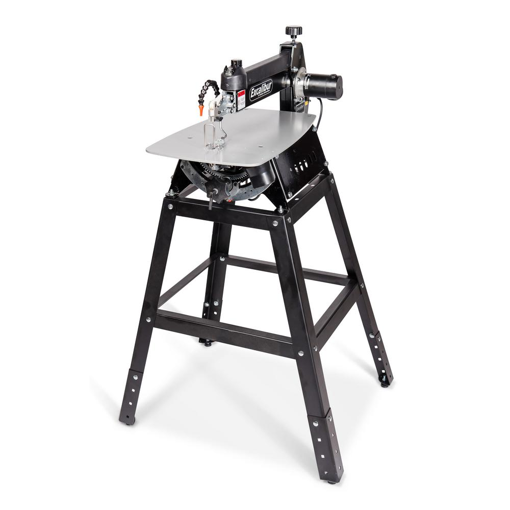 Excalibur 120 volt 21 in tilting head scroll saw with stand and tilting head scroll saw with stand and foot switch keyboard keysfo