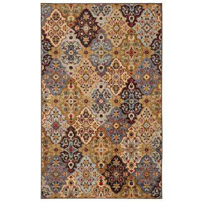 Alli Multi 5 ft. x 7 ft. Area Rug