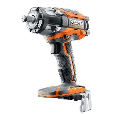 18-Volt Cordless Brushless 1/2 in. Impact Wrench (Tool-Only) with Belt Clip
