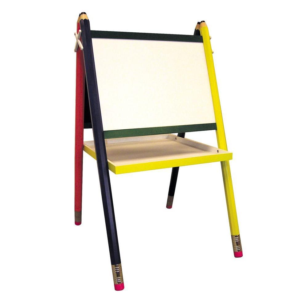 Kidsu0027 Drawing Board And Easel