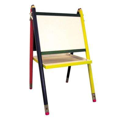 Kids' Drawing Board and Easel