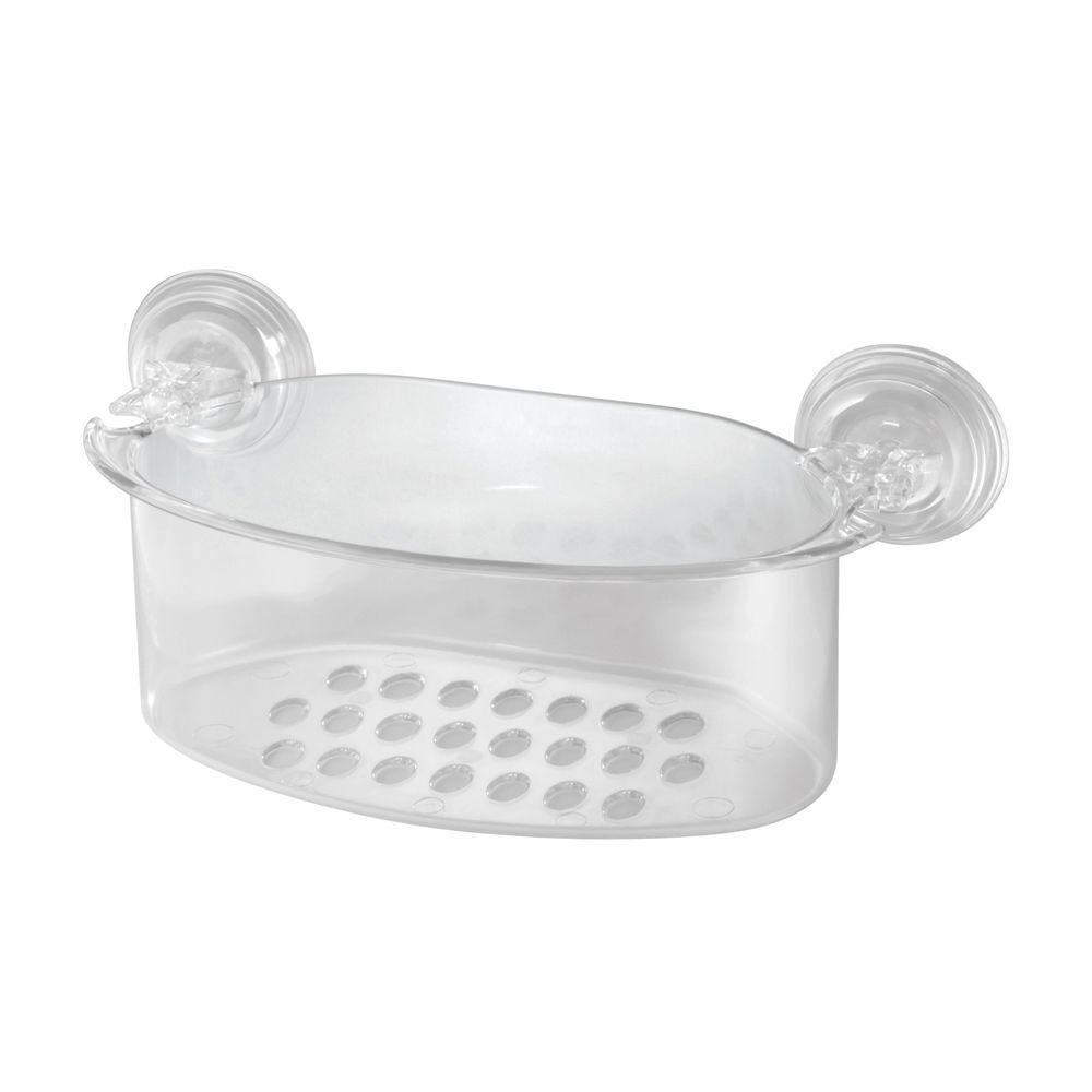 PowerLock Shower Basket 2 in Clear