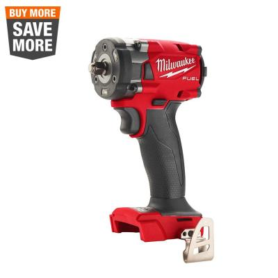 M18 FUEL GEN-3 18-Volt Lithium-Ion Brushless Cordless 3/8 in. Compact Impact Wrench with Friction Ring (Tool-Only)