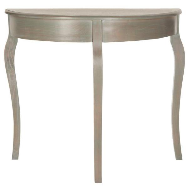 Sema French Gray Console Table