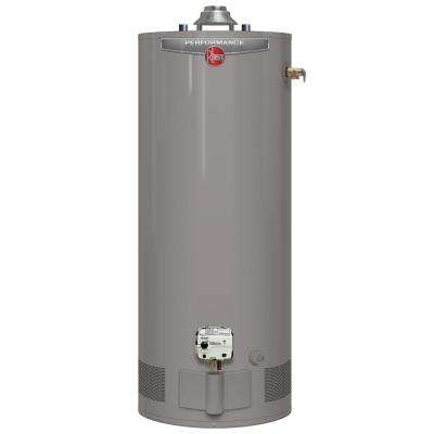 Performance Platinum 50 Gal. Short 12 Year 40,000 BTU Natural Gas Tank Water Heater