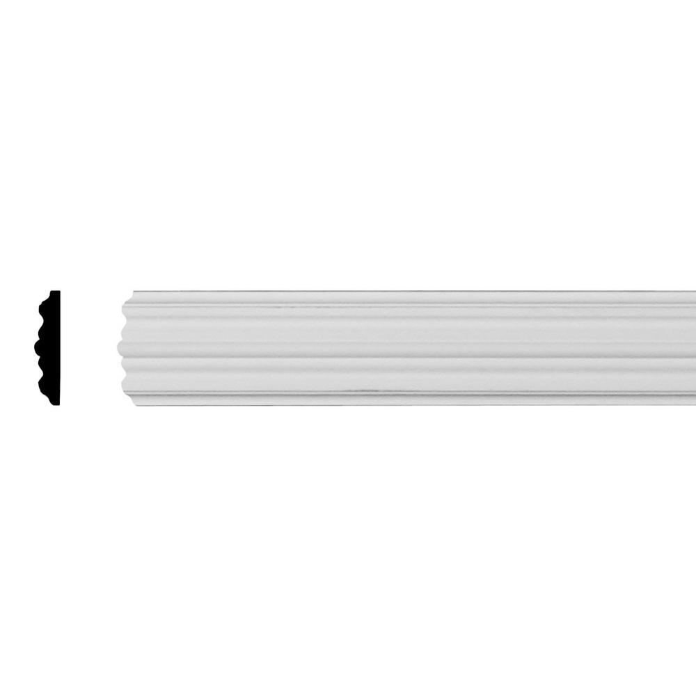 Ekena Millwork 1/2 In. X 2 In. X 94-1/2 In. Polyurethane
