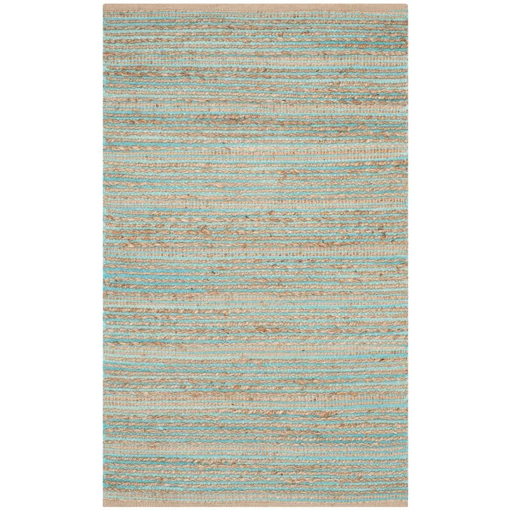 Cape Cod Aqua 3 ft. x 5 ft. Area Rug