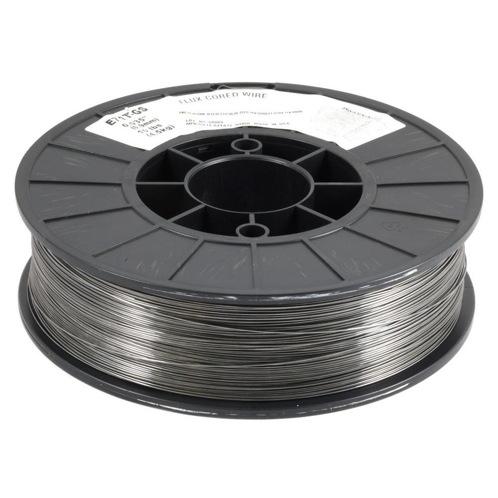 """Gasless Flux Core Mild Steel MIG Welding Wire 10 Lbs Spool E71T-11 .030/"""" 0.8mm"""
