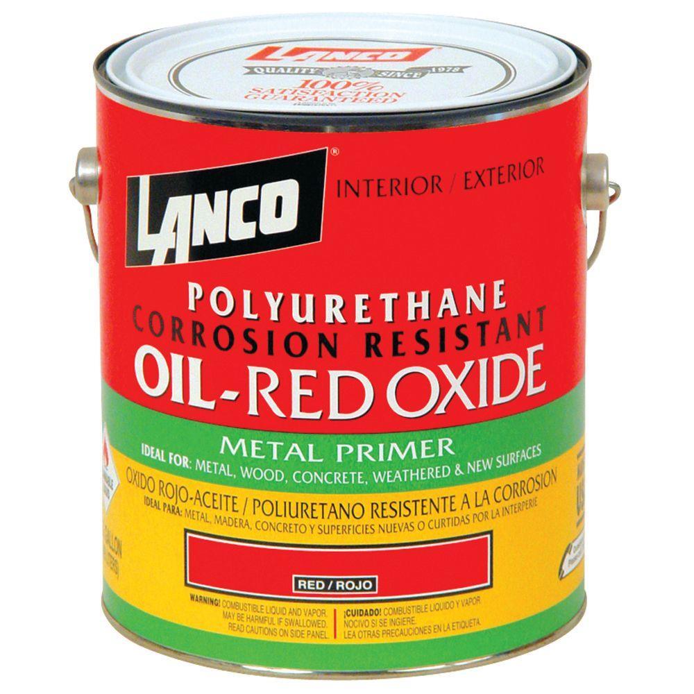 lanco 1 gal oil red oxide metal primer mm100 4 the home. Black Bedroom Furniture Sets. Home Design Ideas