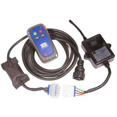 12-Volt DC Wireless Winching System for Talon Series Winches with Weatherproof Floating Remote