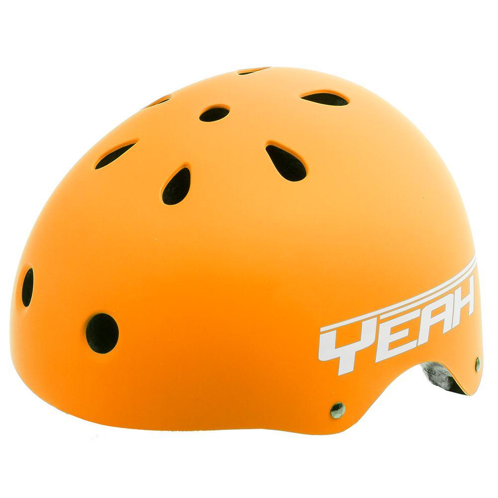 Matte Orange Freestyle Helmet L (58-61 cm)