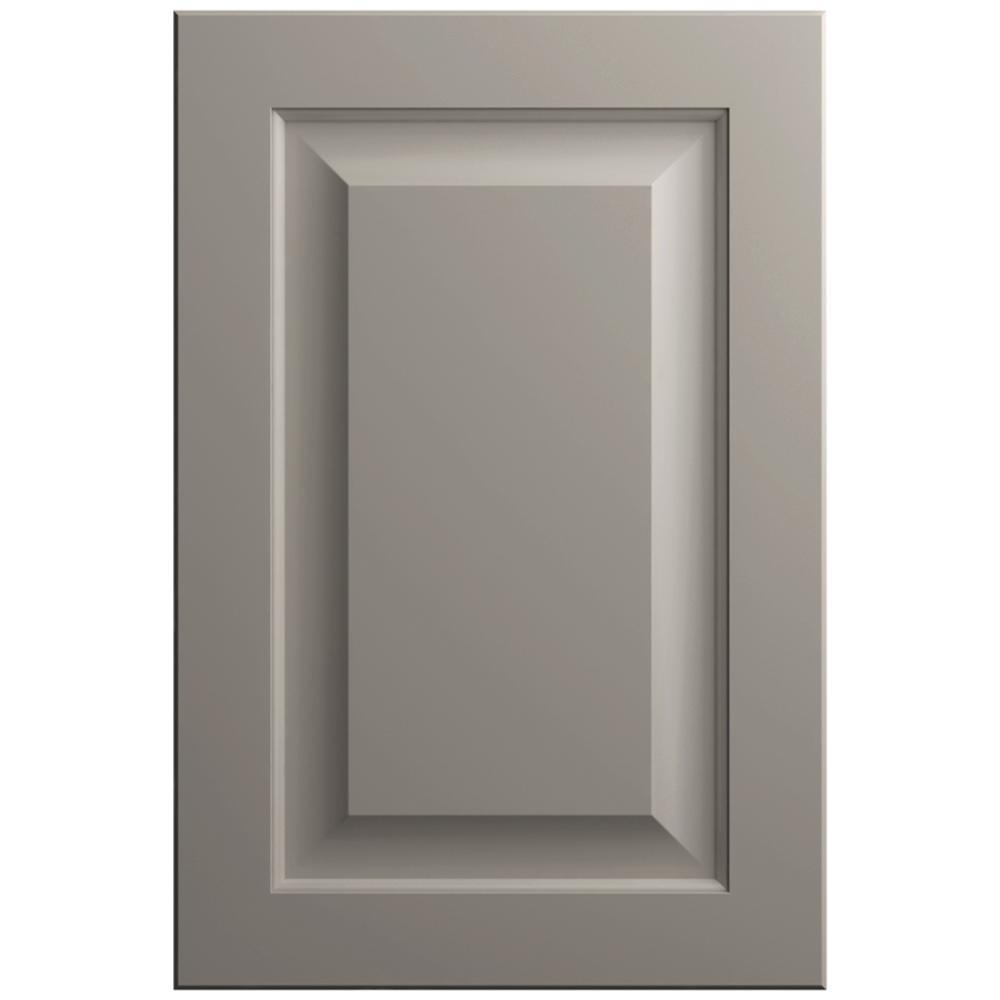11x15 in. Gretna Cabinet Door Sample in Stone Gray