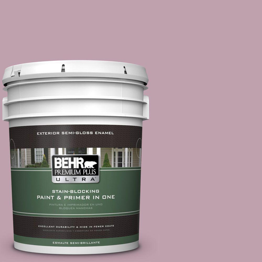 BEHR Premium Plus Ultra 5-gal. #S120-4 Decanting Semi-Gloss Enamel Exterior Paint