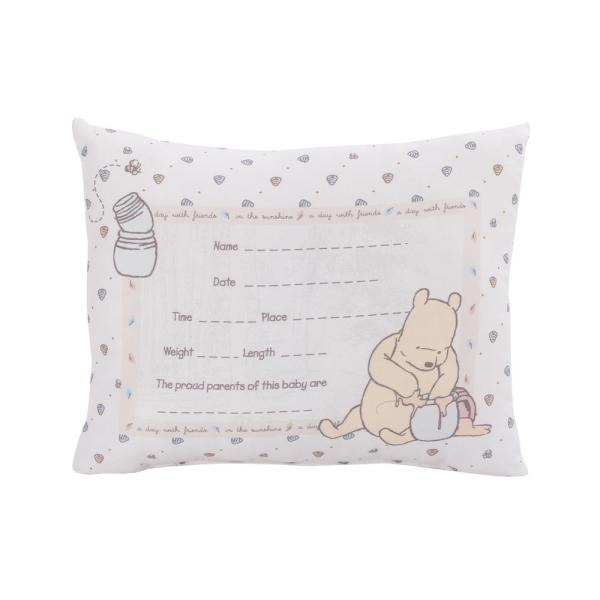 Classic Winnie the Pooh Personalized Birth Announcement for babys nursery