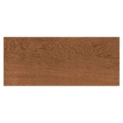 Parkwood Cherry 7 in. x 20 in. Ceramic Floor and Wall Tile (10.89 sq. ft. / case)