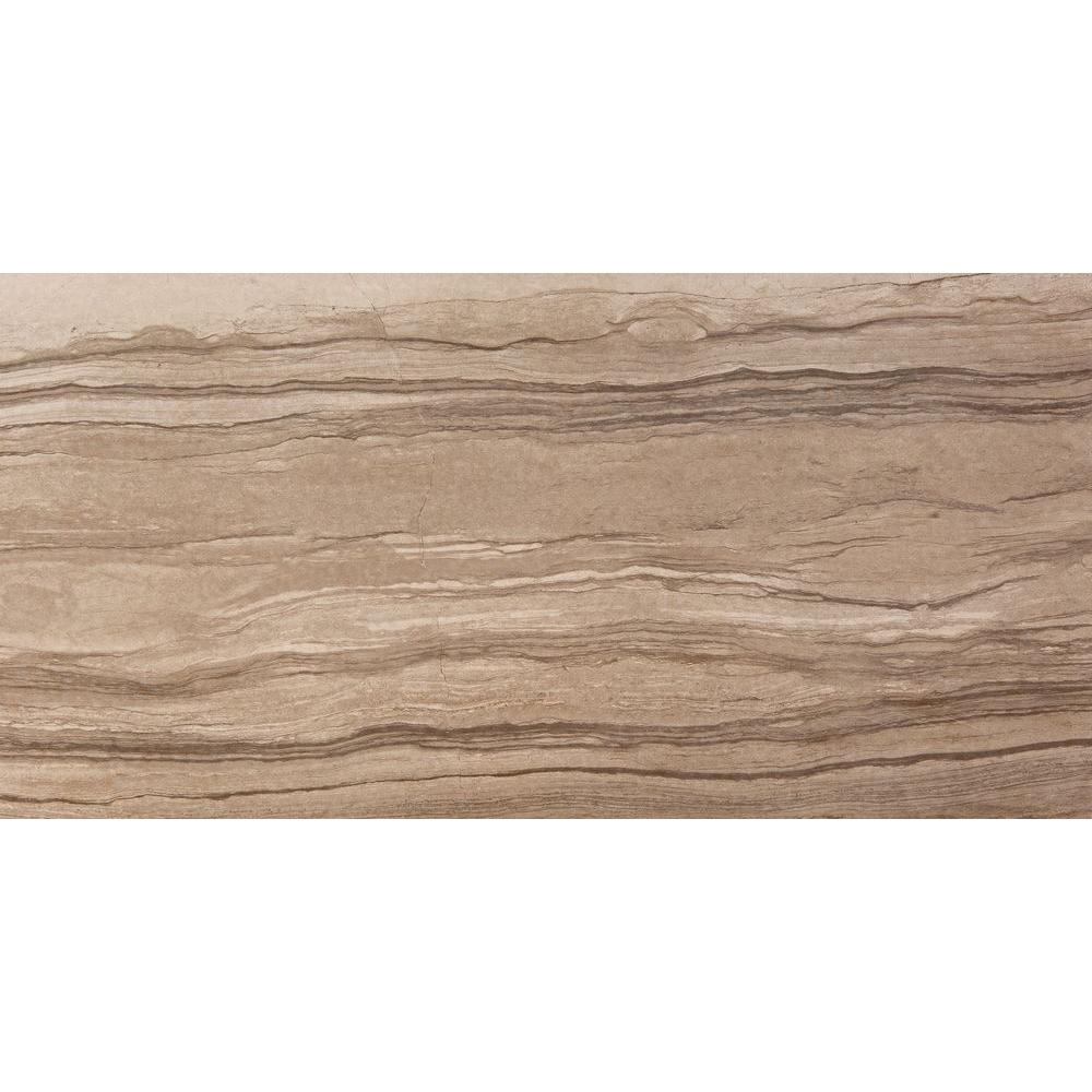 Action Gesture 11 in. x 23 in. Porcelain Floor Tile (9.20