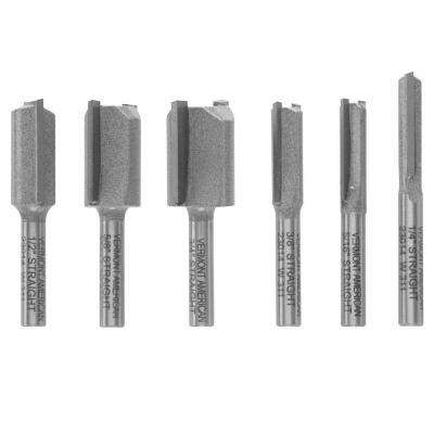 Carbide Straight Set (6-Piece)