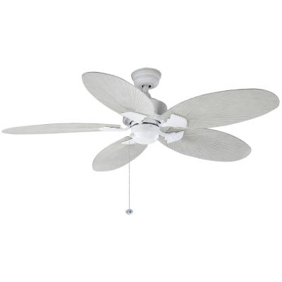 Lillycrest 52 in. Indoor/Outdoor Matte White Ceiling Fan
