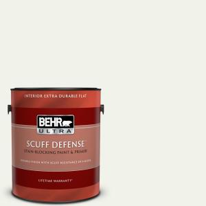 Behr Ultra 1 Gal Mq3 04 Quiet On The Set Extra Durable Flat Interior Paint And Primer In One 172001 The Home Depot