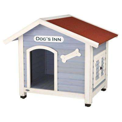Dog's Inn Dog House in Blue/White